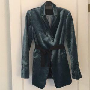 Velvet  Teal Brunello Cucinelli jacket